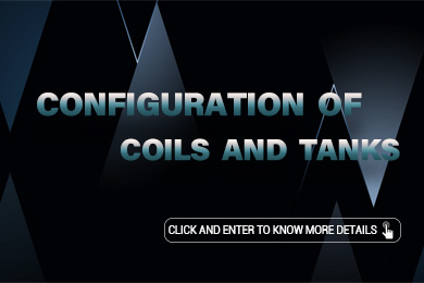 Configuration of Coils and Tank